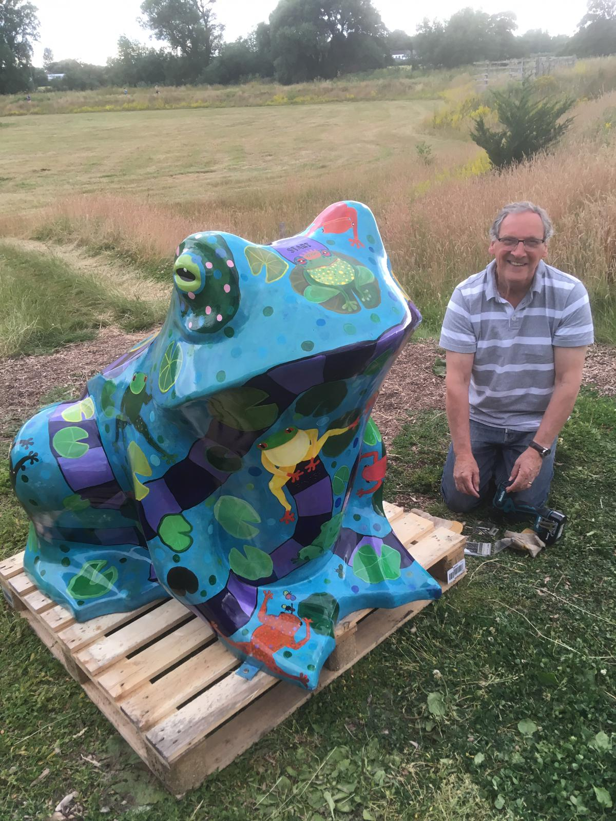 JOIN THE TOAD TRAIL – READY, STEADY, GO!